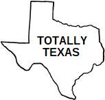 "Book Label ""Totally Texas"""