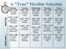 image of a flexible schedule