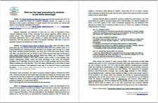 Image link to Internet Laws in a Nutshell: FERPA, COPPA, CIPA handout - Download this free 2-page PDF to hand out to teachers. #NoSweatLibrary