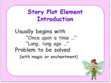 """fairy tale plot element introduction """"long, long ago"""""""