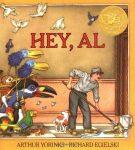 "book cover ""Hey, Al"""