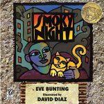 "book cover ""Smoky Night"""