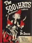 image of book cover-500 Hats of Bartholomew Cubbins by Dr. Seuss