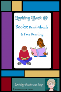 Looking Back @ Books: Read-Alouds & Free Reading