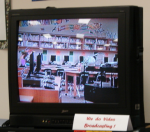 We Do Video Broadcasting! image from my middle school Library.