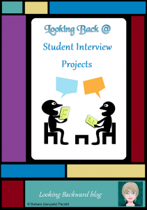 Looking Back @ Student Interview Projects - Interviews can spice up any student project and give students a new perspective on their content. School Librarians can collaborate with any Subject area to give Library Lessons on Interviewing Techniques.