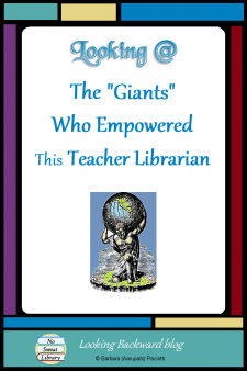 """Looking @ the 'Giants' Who Empowered This Teacher Librarian - On World Teachers Day it's fitting to reflect that great mentors empower us to make a difference in the lives of others. Sir Isaac Newton captured my thoughts perfectly: """"If I have seen further it is by standing on ye sholders of Giants."""" Thank you to the 'giants' who have influenced my life. #NoSweatLibrary #inspiration"""