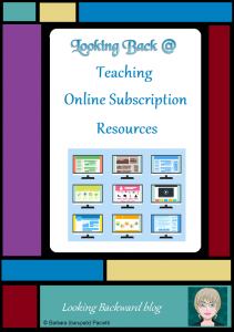 Looking Back @ Teaching Online Subscription Resources - By crafting and scaffolding relevant Library Lessons about online subscription resources, and by focusing on types rather than format, students and teachers learn a wide range of information resources, and understand that both print and digital resources can contribute to student success.