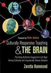 """Book cover of """"Culturally Responsive Teaching and the Brain by Zaretta Hammon"""