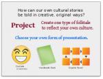 Multicultural Folktales Project Presentation Slide