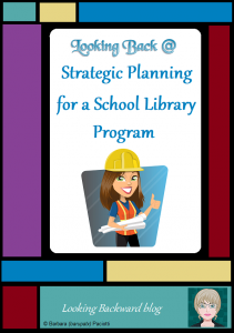 Looking Back @ Strategic Planning for a School Library Program - Strategic planning is an effective tool for a School Library Program if it includes: defined beliefs, a broad vision, and a clear mission; significant concepts, a vision, a mission, and goals; and an action plan with specific action steps to organize time, materials, and personnel.