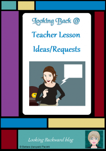 Looking Back @ Teacher Lesson Ideas/Requests - Every school librarian experiences a teacher coming in with a great new idea for a library visit—something from their previous school, from a book/curriculum guide, or from a meeting or conference. How can we decide whether to accommodate this teacher's request?