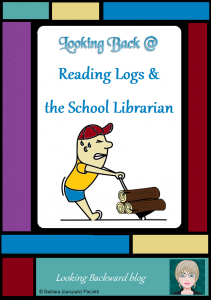 Looking Back @ Reading Logs & the School Librarian - Student Reading Logs can be horribly discouraging for students or they can be valuable enhancements to any reading program for English Language Arts or other content areas. A perceptive School Librarian can see the interconnections between content reading and develop tools that will make a School Library Reading Program preferred by teachers and enjoyed by students. #readingliteracy #readingpromotion #contentareareading #schoollibrary