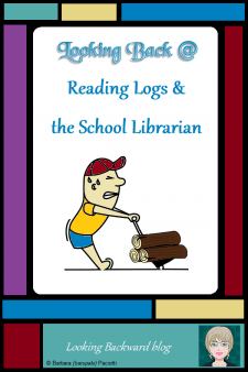 Looking Back @ Reading Logs & the School Librarian - Reading Logs can discourage students or they can be valuable enhancements for reading promotion. What is the purpose of reading logs?Are some reading logs better than others? What are the alternatives to reading logs? A perceptive School Librarian can develop tools that will make a School Library Reading Program preferred by teachers and enjoyed by students. #readingpromotion #englishlanguagearts #ELA #socialstudies