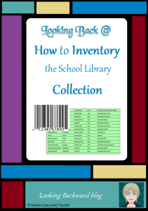 Looking Back @ How to Inventory the School Library Collection - Are you avoiding a library collection inventory because it seems like such an overwhelming task? Understand why we inventory our collection and how to do a series of mini-inventories over time so it's a satisfying undertaking instead of a dreaded one. Read on ... #schoollibrary #inventory #timemanagement