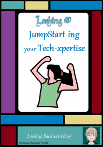 Looking @ JumpStart-ing your Tech-xpertise - If you feel, as I did, that you've fallen behind on the latest technology tools, you'll love learning about JumpStart, an online course that will bring you up to speed with the best practices for integrating technology into your School Library (or classroom). Plus you get a wonderful professional learning community to support and sustain you through your endeavors! Read on to find out more... #techintheclassroom #techintegration #edtechtools #teacherprofessionaldevelopment #onlinelearning