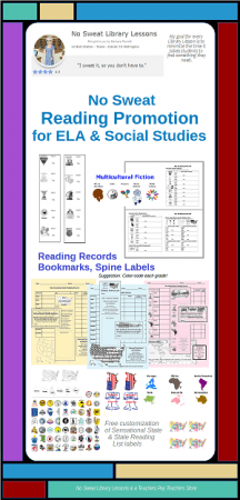 Reading Promotion for ELA and Social Studies