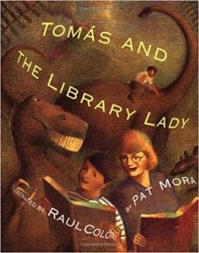 image of Tomas and the Library Lady picture book
