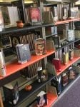 Ridgeway HS Library Halloween Display