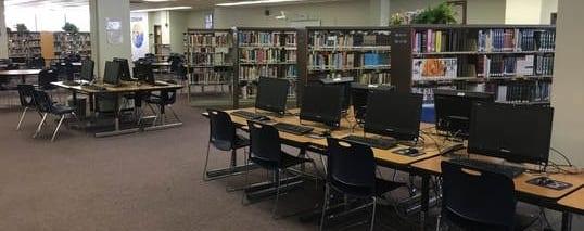 Ridgeway HS School Library