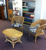 RHS Library Reading Corner