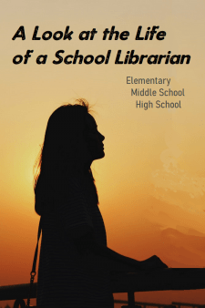 """A Day In the Life of Elementary, Middle & High School Librarians - Anyone can see that a School Librarian is busy, working with students, collaborating with teachers, but there's a lot of """"invisible"""" work, too. #NoSweatLibrary #schoollibrary #school librarian"""