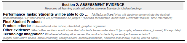 NoSweat Library Lesson Planner Section 2