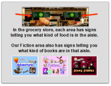 Our School Library Is Like a Grocery store.