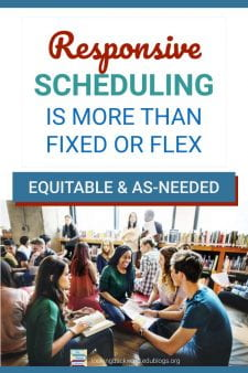 A Responsive School Library Is Essential for Student Success - The June 2019 AASL School Library Scheduling Position Statement calls for flexible, open, unrestricted, and equitable access and collaborative planning between teachers & the school librarian. #NoSweatLibrary
