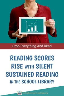 Kids Love Reading When They Can Actually Read - School Librarians who establish silent reading & invited book checkout can see a rise in Reading Test scores, and students who begin to read better begin to love reading. Read about it yourself now. #NoSweatLibrary
