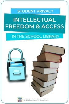 How Student Privacy Applies to School Libraries & Student Reading - Student privacyprotects their freedom to read what they want from the school library, andSchool Librarians are obligated to keep confidential the books a student has checked out. Read more about student privacy... #NoSweatLibrary
