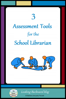 3 Assessment Tools for the School Librarian - You may be surprised that School Librarians dohave ways to measure and show student learning from our Library Lessons.I regularlyuse these 3 assessment tools with my instruction: graphic organizers,rubric criteria, and library circulation statistics. #NoSweatLibrary