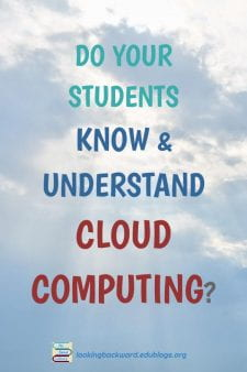 Teach Students the Concepts of Cloud Computing Instead of Tools - School Library Lessons about social media need to focus on thetype and purpose of digital services, rather than brand names, so students know when and how touse any tool responsibly. Read about forms of interaction, presentation, transmission, and more... #NoSweatLibrary