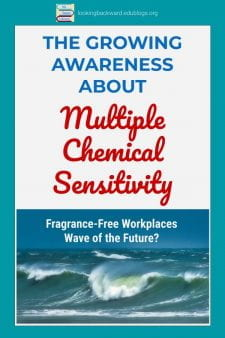 Students Need Fragrance Free School Libraries & Classrooms - Chemical sensitivity is a growing concern in schools, as more children & teens exhibit asthma and allergic reactions to fragrances. We can guarantee an optimum learning environment for our students by eliminating fragrances & other pervasive chemicals in our school libraries and classrooms. #NoSweatLibrary