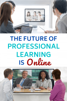 Online Learning Offers More & Better Opportunities for Educators - With travel and hotel costs rising and school budgets shrinking, videoconferencing, live chats, and other Web tools make conferences & workshops engaging without the hassles of travel & crowds. Online coursework offers more customized and self-paced learning opportunities. #NoSweatLibrary