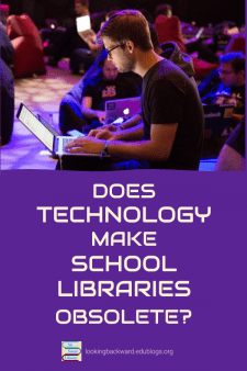 Does Technology Make School Libraries Obsolete? - To have or not have a School Library? If we have one, do we need books? So many questions, and I have a few answers. Read on... #NoSweatLibrary