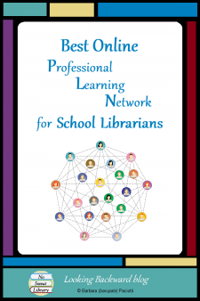 Best Online Professional Learning Network for School Librarians - Some of my best practices & ideas have come from my online Professional Learning Network. So, here's my list of bloggers, social media groups, and other communities that have had the greatest influence on my Library Lessons and School Library Program..and they may help you, too. #NoSweatLibrary