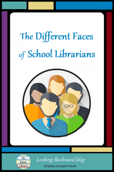 The Different Faces Of School Librarians - A School Librarian may seem to have it easy, but we are the busiest teacher in the school! Elementary, middle, and high school librarians have quite different experiences, but we also share common tasks and a love for the best job in the world! #NoSweatLibrary
